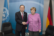 Secretary-General Meets Chancellor of Germany in London 3.7293527