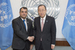Secretary-General Meets IPU President