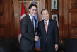 Secretary-General Meets Prime Minister of Canada 3.7304065