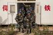 UNMISS Chinese Battalion Patrols Perimeter of UN House and POC Sites in Juba 4.4471374