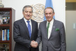 Deputy Secretary-General Meets Foreign Minister of Tajikistan 0.6779842