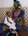 Mother and Child at Pediatric Unit in Schiphra Hospital, Ouagadougou 10.99461