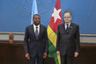 Head of UNOG Meets President of Togo 7.2358737