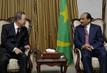 Secretary-General Meets President of Mauritania in Nouakchott 0.3373148