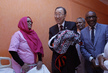 Secretary-General Visits Mother-Child Hospital in Mauritania 0.7530116