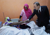 Secretary-General Visits Mother-Child Hospital in Mauritania 5.3754644