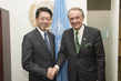 Deputy Secretary-General Meets Japanese State Minister for Foreign Affairs 0.6779842