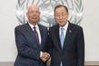Secretary-General Meets Head of World Economic Forum 2.8394003
