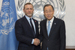 Secretary-General Meets UN Advocate for Elimination of Mines 2.8394003