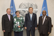 Secretary-General Meets Co-Chairs of High-level Panel on Access to Medicines 2.8394003