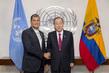 Secretary-General Meets President of Ecuador 2.8394003