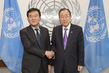 Secretary-General Meets President of Financial Action Task Force 2.8393788