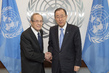 Secretary-General Meets Former US Secretary of Defence 2.8393788