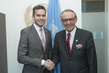 Deputy Secretary-General Meets Swedish Health Minister 7.2349005