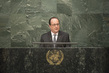 President of France Addresses Signing Ceremony for Paris Agreement 1.0