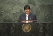 President of Bolivia Addresses Signing Ceremony for Paris Agreement 3.326827