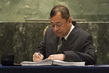 Energy Minister of Brunei Darussalam Signs Paris Agreement 4.343952