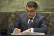 Minister of Environment of Cyprus Signs Paris Agreement on Climate Change 4.343952