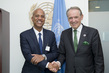 Deputy Secretary-General Meets Prime Minister of Belize 0.67610115