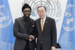 Secretary-General Meets will.i.am 1.0