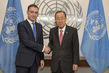 Secretary-General Meets Prime Minister of Estonia