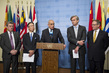 Security Council Members Brief Press on Healthcare in Armed Conflict