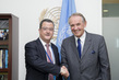 Deputy Secretary-General Meets State Secretary of Switzerland 7.216522