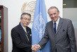 Deputy Secretary-General Meets Deputy Foreign Minister of Japan 7.236832
