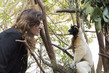 UN Staff Member in Lemur Park, Madagascar 3.4793801