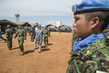 UNMISS Holds Medal Parade for Japanese Engineer Contingent 4.447897