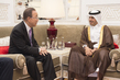 Secretary-General Meets Prime Minister of Qatar 1.1873235