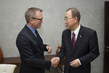 Secretary-General Meets UN Advocate for Elimination of Mines 1.0