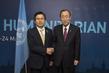 Secretary-General Meets Korean Prime Minister in Istanbul 1.0