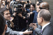 Secretary-General Speaks to Media in Seoul