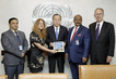 Secretary-General Meets Co-Chairs of External Review of UN Police Division