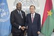 Secretary-General Meets President of Burkina Faso 2.8305578