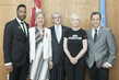 General Assembly President Meets UNAIDS Goodwill Ambassadors 7.2170267