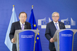 Secretary-General, European Commission President at Joint Press Conference 1.1750852