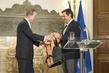 Secretary-General, Greek Prime Minister Address Joint Press Conference 3.7051525