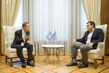 Secretary-General Meets Prime Minister of Greece 1.0