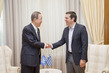 Secretary-General Meets Prime Minister of Greece 3.7051525
