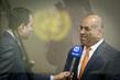 Permanent Representative of Yemen Speaks to the Media 0.65245336