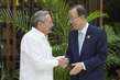 Secretary-General Attends Ceremony for Colombian Ceasefire Agreement, Havana 4.3421125