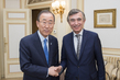 Secretary-General Meets Special Advisor on Financing for Development