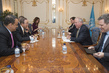 Secretary-General Meets US Under Secretary of State for Political Affairs