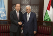 Secretary-General Meets Palestinian President in Ramallah 2.2643025