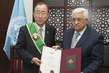 Secretary-General Receives Star of Palestine Order 1.0