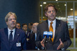 Foreign Ministers of Netherlands , Italy Brief Press on Security Council Elections 0.038318377