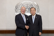Secretary-General Meets UN Envoy for Syria