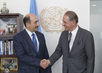 Deputy Secretary-General Meets Culture Minister of Azerbaijan 7.2170267